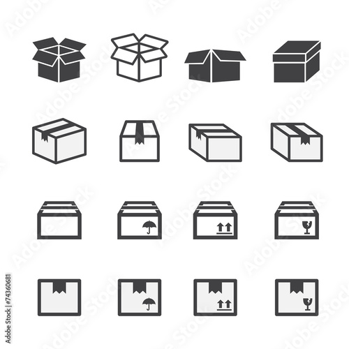 box icon set - 74360681