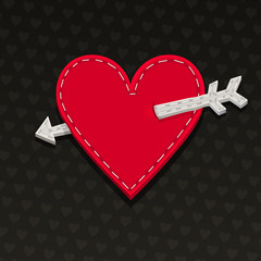 Needlecraft Heart