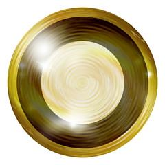 Golden round design elements