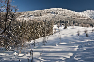 Luksinec hill from Butoranka