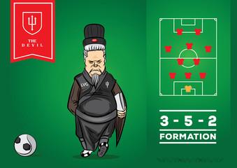 3 5 2 football team formation
