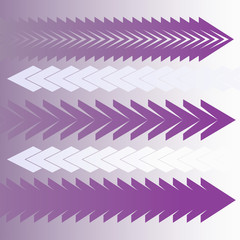bright purple and violet arrows collection set