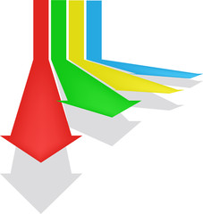 arrow vector background