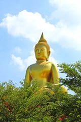 Big Golden Buddha in Thailand.