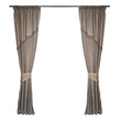 fabric curtains - 74365660