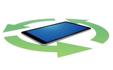Tablet and recycling