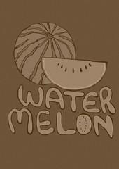 Watermelon vintage