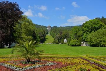 Der Bergpark Wilhelmshöhe in Kassel mit Herkules