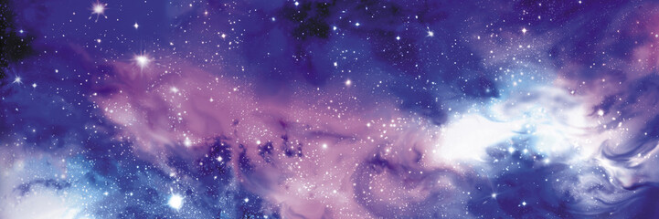 Cosmos transparentu z gwiazd