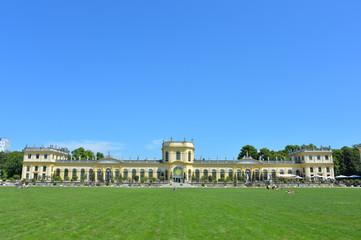 Die Orangerie in der Karlsaue in Kassel