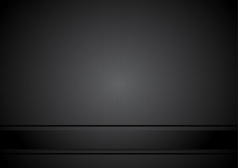Black simple background