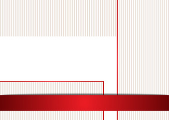 Simple background in red and white color
