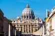 canvas print picture - Italien, Rom, Petersdom