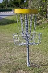 ディスクゴルフのゴール