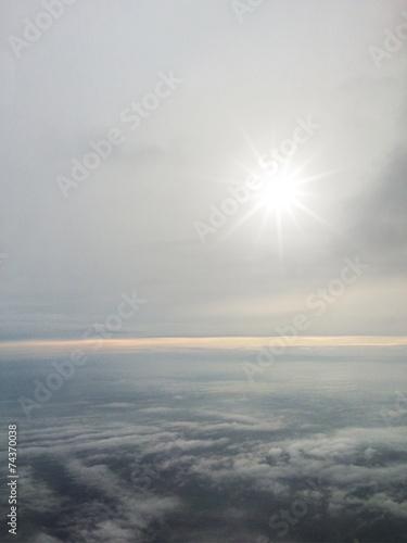 canvas print picture Über den Wolken