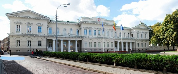 Lithuanian president residence on September 24, 2014