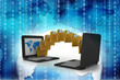 sharing data and computer network