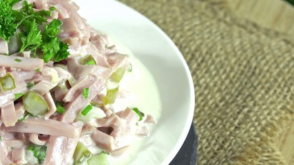 Meat Salad (seamless loopable)