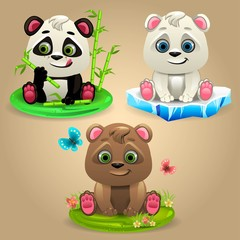 Cartoon Three Bears