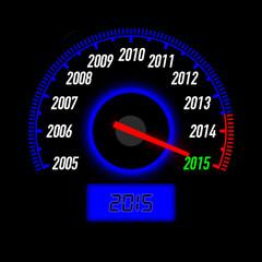 Jahreswechsel 2014 2015 schwarz