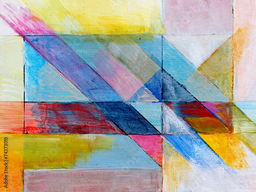 Fototapety, obrazy : a detail from an abstract painting