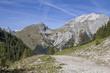 canvas print picture - Im Karwendelgebirge