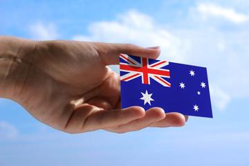 small flag of Australia