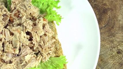 Fresh made Tuna Sandwich (not seamless loopable)