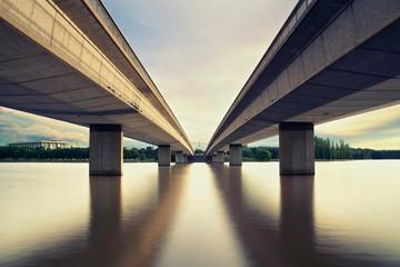 Canberra &  2 Bridges