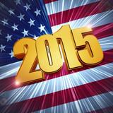 2015 USA flag