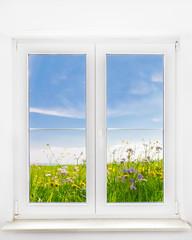 Frühling vor dem Fenster