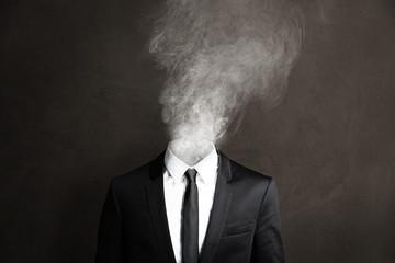 Smoking Businessmann