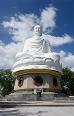 Buddha of Long Son pagoda. Nha Trang, Vietnam
