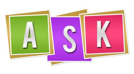 Ask Colorful Blocks