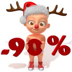 Baby Jake christmas sale 90 percent discount