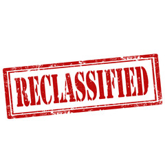 Reclassified-stamp
