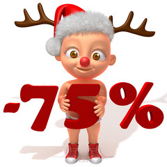 Baby Jake christmas sale 75 percent discount