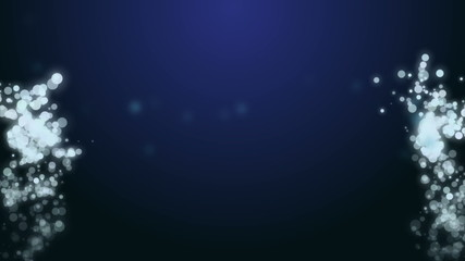 Animated bokeh background for intro or outro