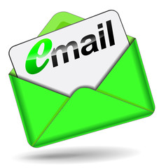 email green envelope