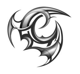 Tribal art tattoo