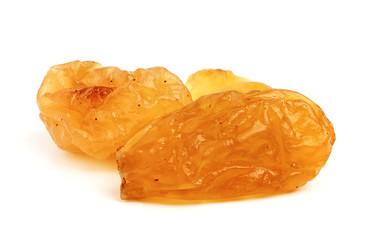 Dried raisin.