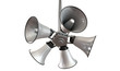 Horn Speakers Hanging View
