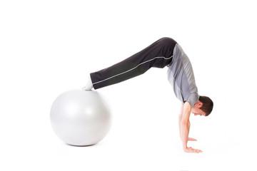 Pike on Fitness Ball