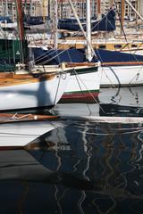 Le Port de Marseille, reflets