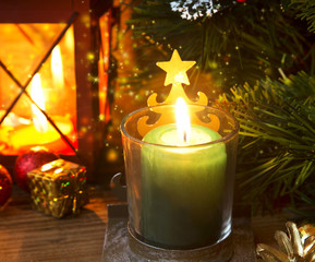 Magic Festive Christmas Candle Light