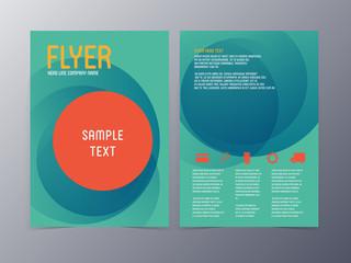 vector business brochure  flyer template