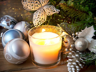 Magic Christmas Candle Light