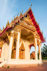 Buddhist temple in southern Thailand.