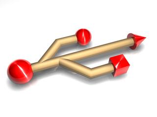 Usb 3d Logo