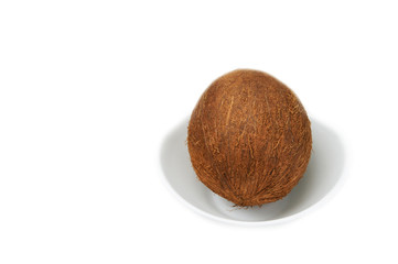 Coconut on a Plate